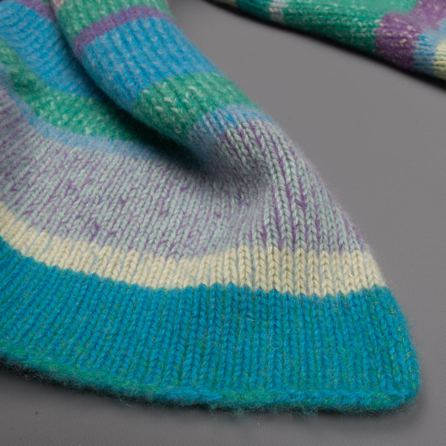 The Elder Statesman @ Frans Boone Oversized supersoft cashmere scarf  multicolor