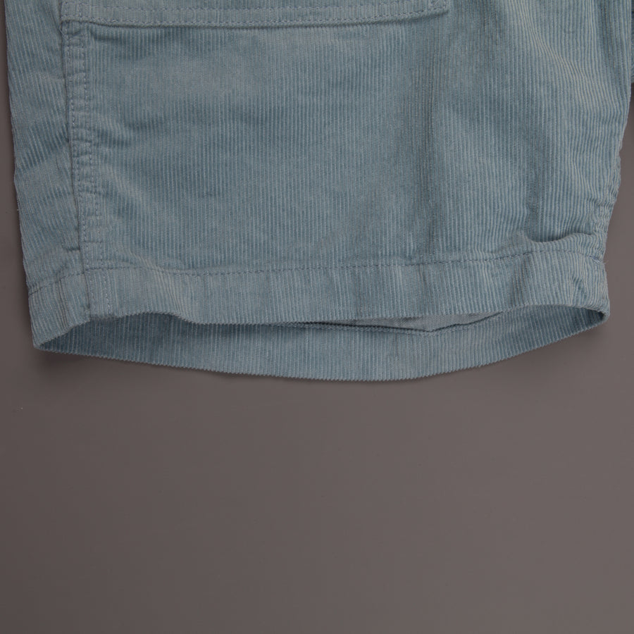 Engineered Garments Fatique Short Lt. Blue 14W Corduroy