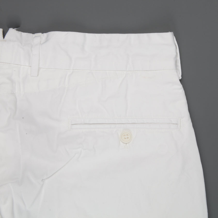 Engineered Garments Andover Pant White High Count Twill