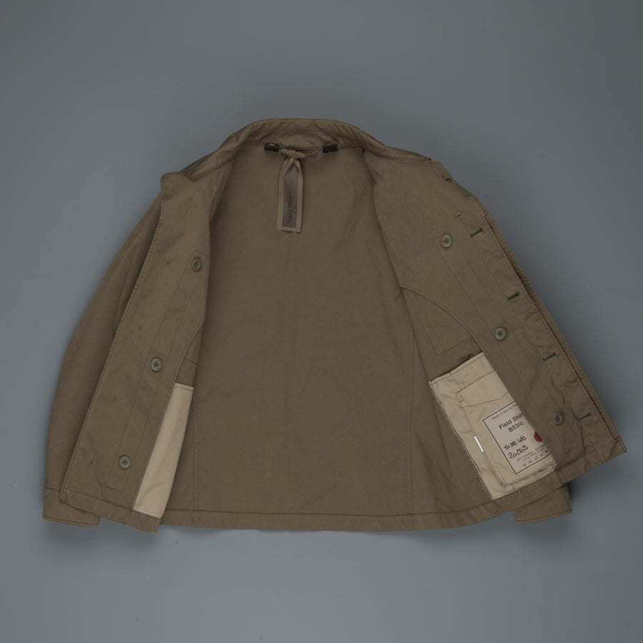 Ten C Field Shirt Olive