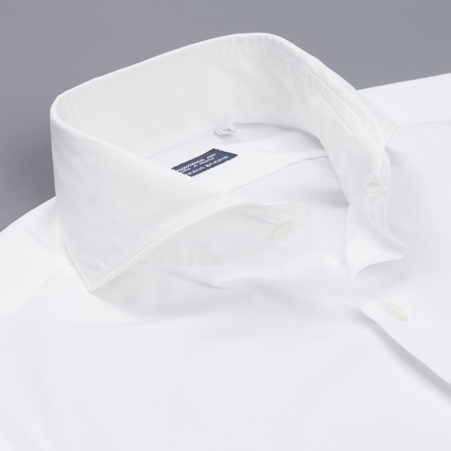 Finamore Milano soft shirt Sergio collar white