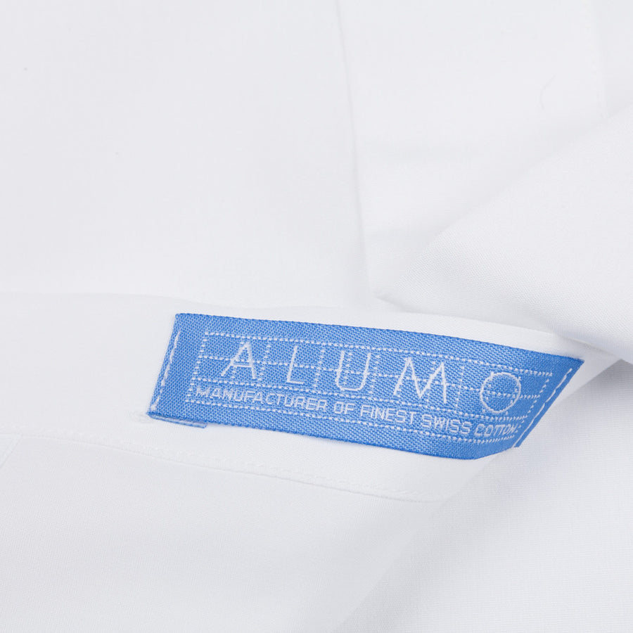 Finamore Milano soft Sergio collar shirt blue