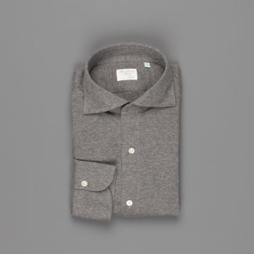 Finamore Ottawa fit collo Simone Cotton/Cashmere Grey