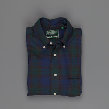 Gitman Vintage oxford button down shirt Blackwatch