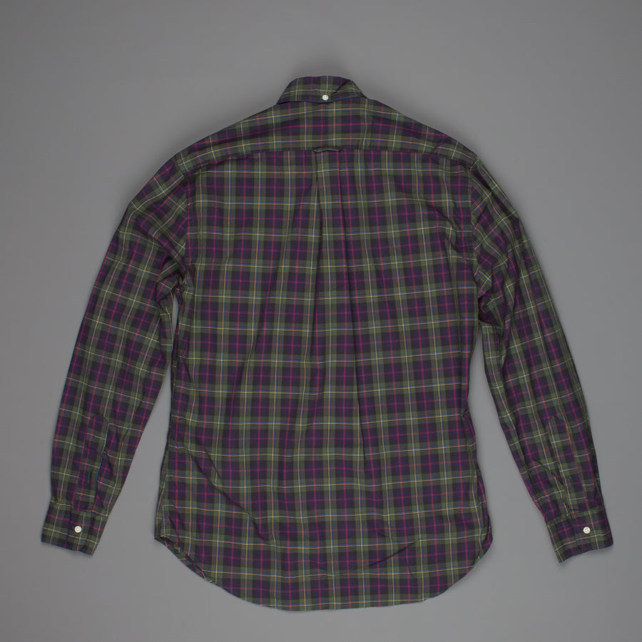Gitman Vintage Button Down Shirt Poplin Echo Valley Plaid