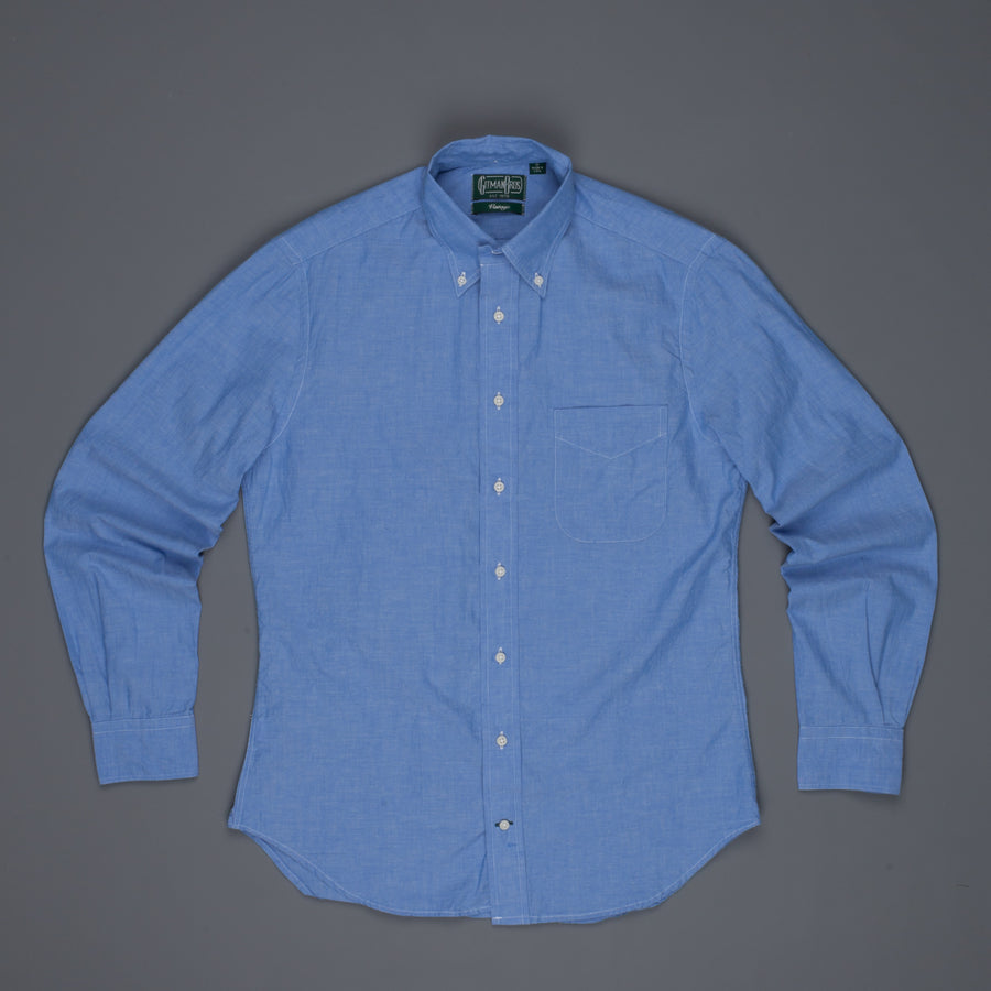 Gitman Vintage Button down shirt chambray japanese