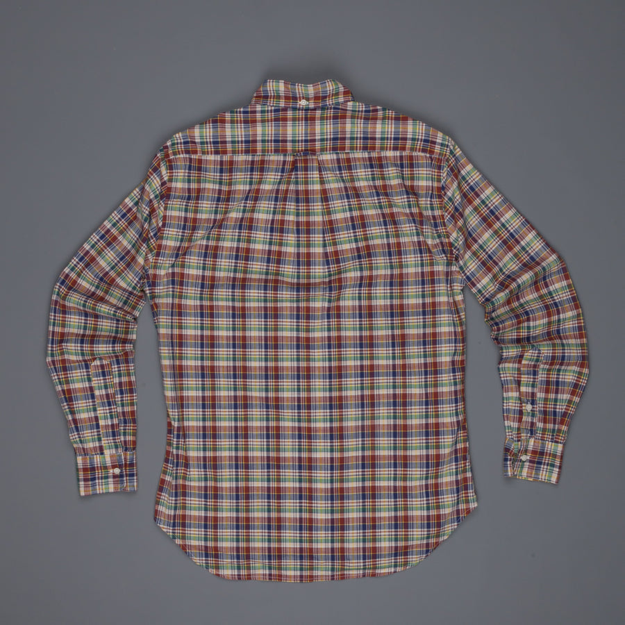 Gitman Vintage Button down shirt Madras