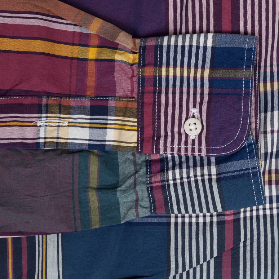 Gitman Vintage bd shirt purple madras