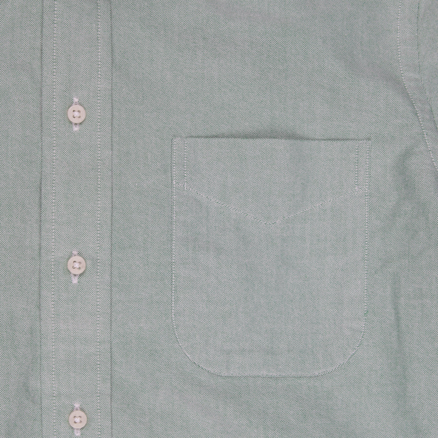 Gitman Vintage Button down shirt oxford light green