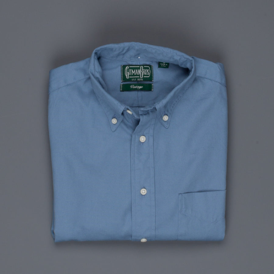 Gitman Vintage Button down shirt oxford old blue