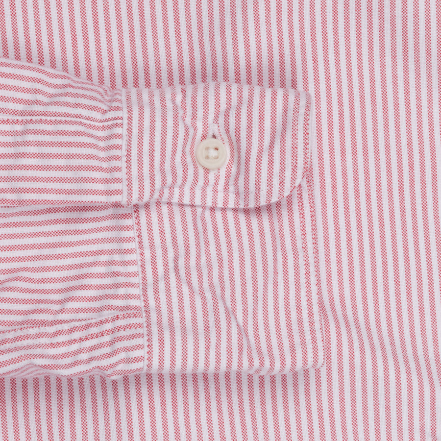 Gitman Vintage Button down shirt pink striped