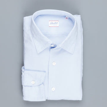 Glanshirt Kurt Medium weight Oxford Azzuro