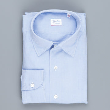 Glanshirt Kurt Medium weight Oxford Celeste
