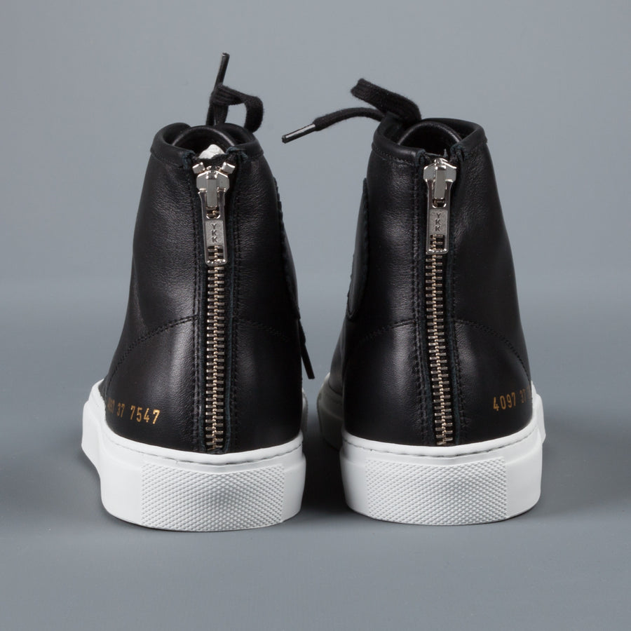 Common Projects Woman by Common Projects Tournament high in leather black