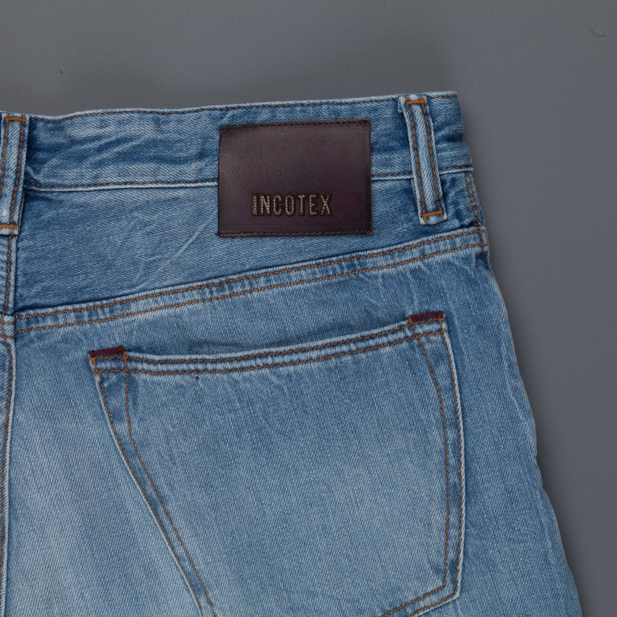 Incotex Sky Cinque Slim Jeans California Blue