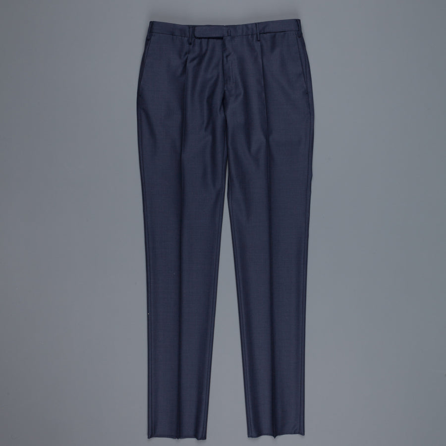 Incotex Model 30 s100 wool pants navy