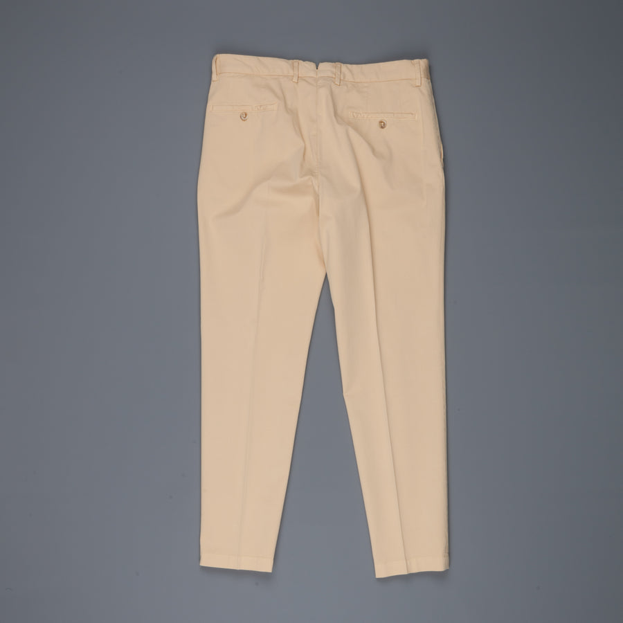 Incotex Venezia model 53 low rise carrot fit Noce Chiaro