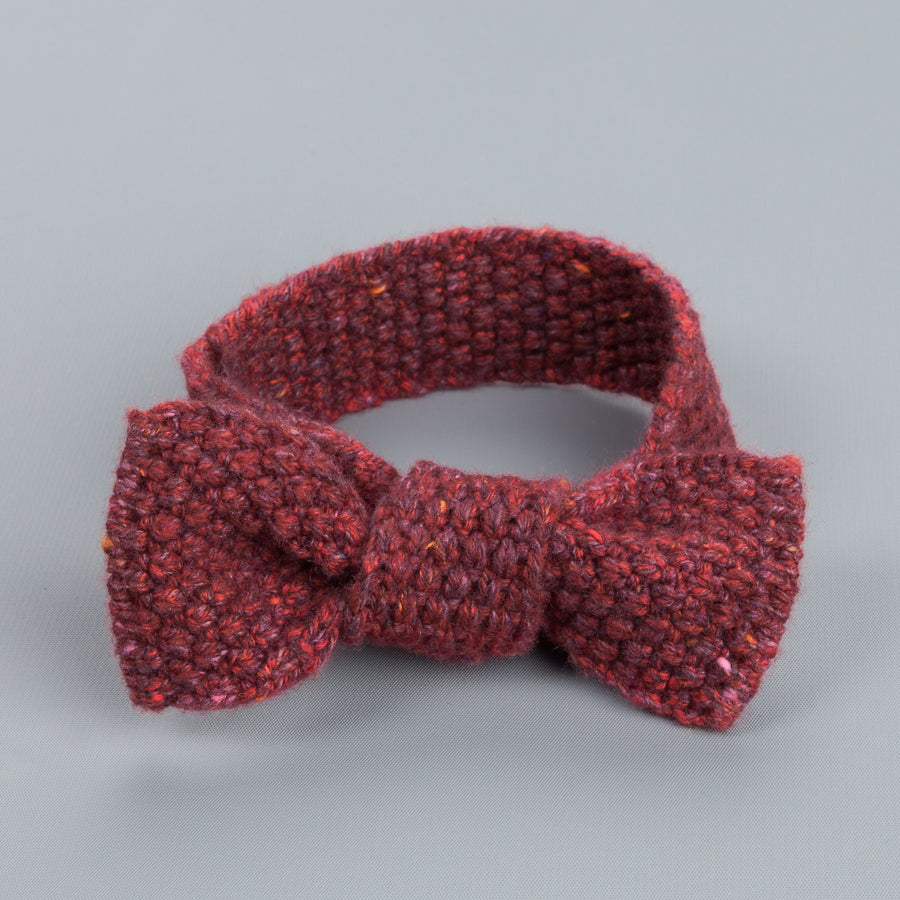 Inis Meáin bow tie in merino Wool color 75
