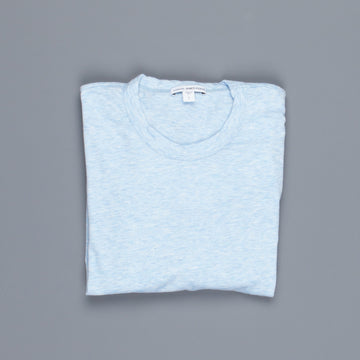 James Perse Heathered cotton tee crew neck Sky Blue