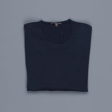 James Perse Fine Gauge Cotton Crew Neck French Navy