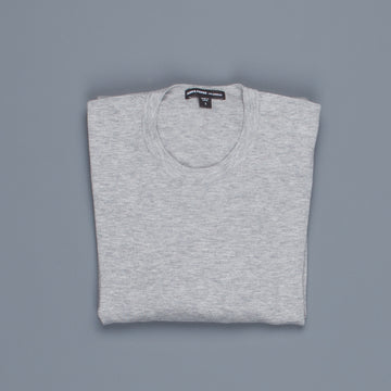 James Perse Fine Gauge Cotton Crew Neck Heather grey