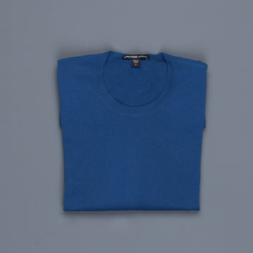 James Perse Fine Gauge Cotton Crew Neck Air Force Blue