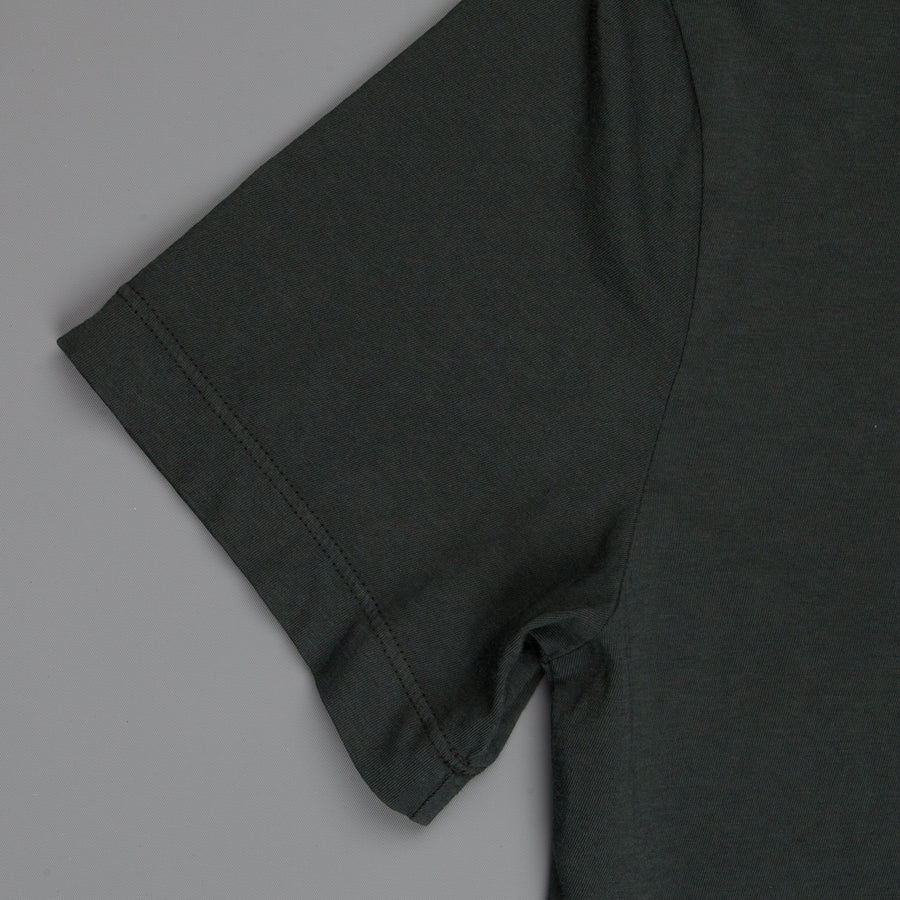James Perse short sleeve V-neck Petrol Green