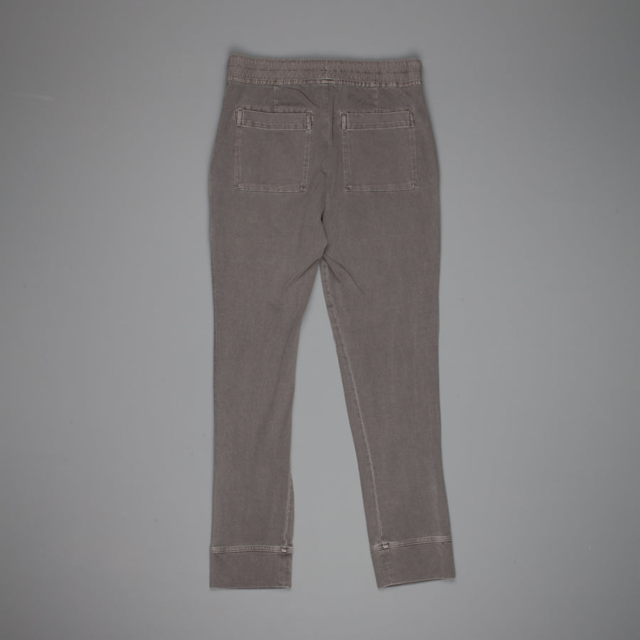 James Perse Cotton jersey jogger pants Iron Pigment