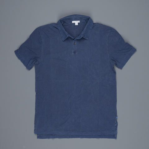 James Perse Revised standard polo Admiral Pigment