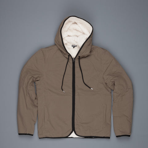 James Perse Sherpa Hoody Army Green