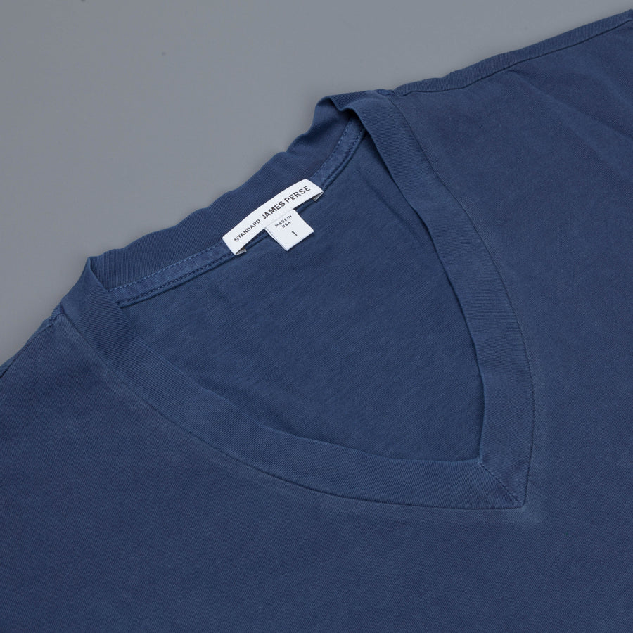 James Perse  V neck tee Admiral Pigment