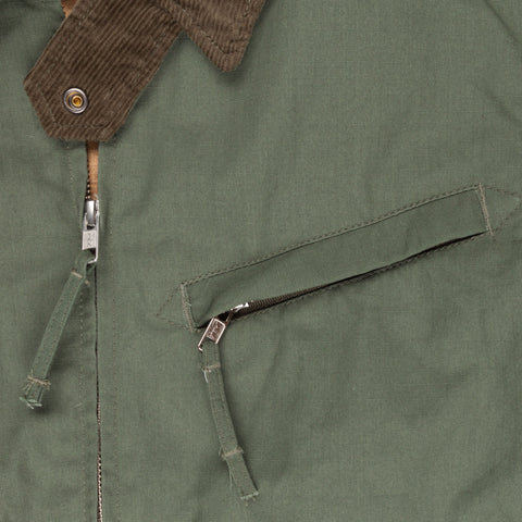 Engineered Garments Pathfinder  jacket Olive Nyco Ripstop
