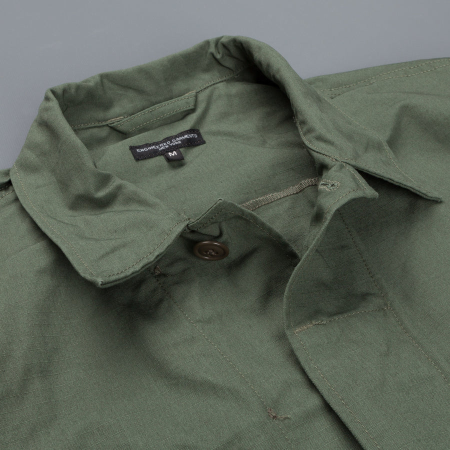 Engineered Garments BDU jacket Olive Nyco Ripstop