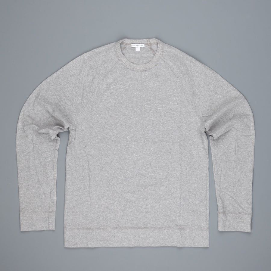 James Perse Suede Jersey Raglan heather grey