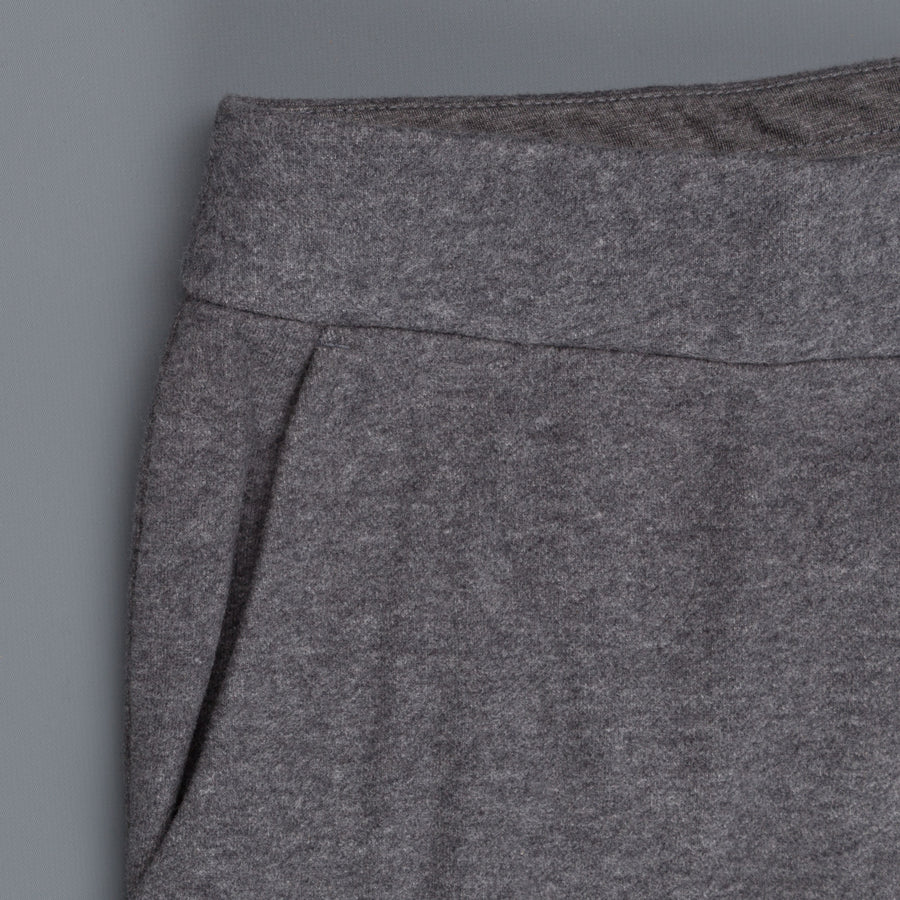 James Perse compact fleece pants charcoal