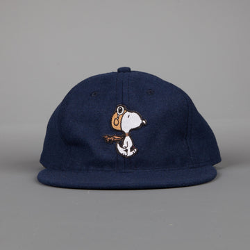 Ebbets Field Flannel Navy Snoopy Aero Ace