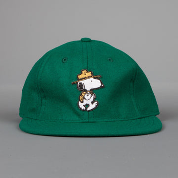 Ebbets Field Flannel Green Wool Snoopy the Ranger