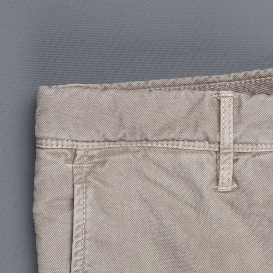 Incotex Slacks model 603 Tricochino stretch dark beige