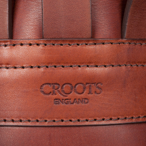 Croots Drawstring rucksack Italian calf leather