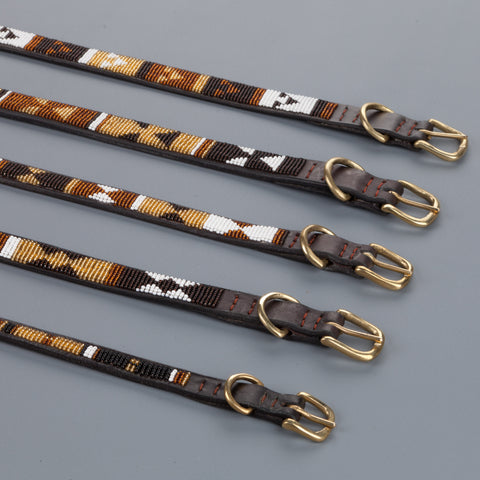 "Nata'Chien dog collar ""Scott"""