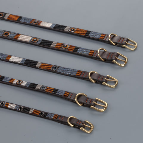 "Nata'Chien dog collar ""Volcan"""
