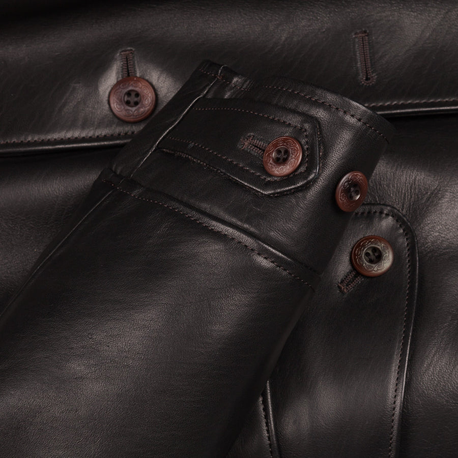 New in! Orgueil or-4010 tailor made Horsehide Aviator coat