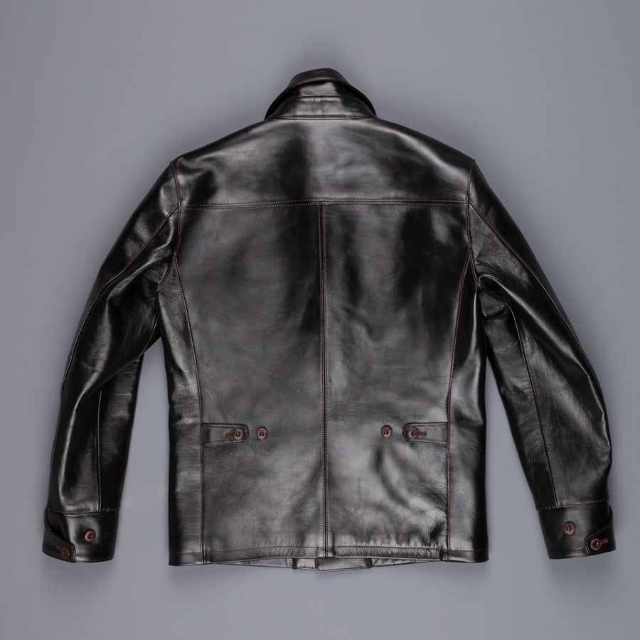 Orgueil Or-4035 Horsehide Car coat black
