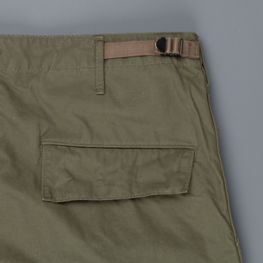 OrSlow Cargo Pants Vintage Fit in Olive Ripstop