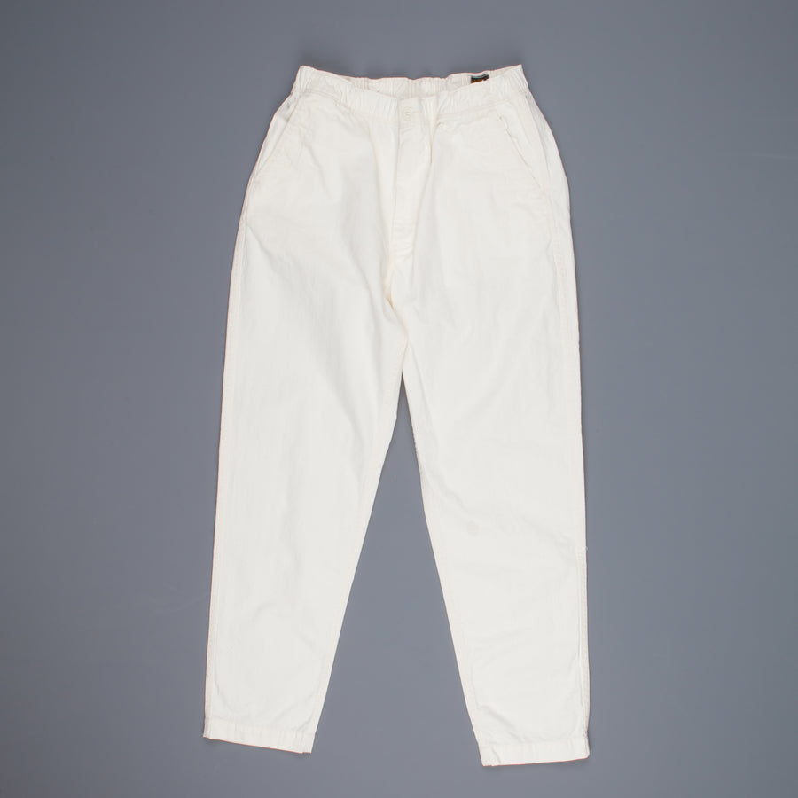 orSlow Easy Pants Herringbone Twill Ecru Frans Boone Store Exclusive