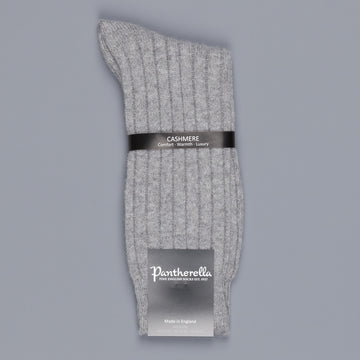 Pantherella Cashmere Waddington Flannel Grey