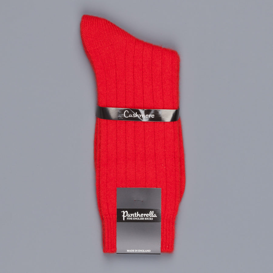 Pantherella Cashmere Waddington Socks Red