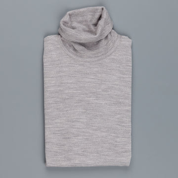 John Smedley Richards Turtleneck in Silver