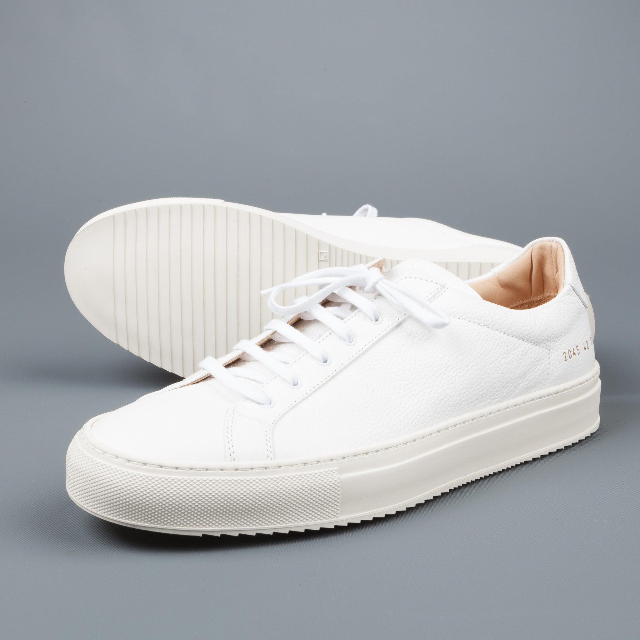 common projects achilles premium low white sawtooth sole frans boone store. Black Bedroom Furniture Sets. Home Design Ideas