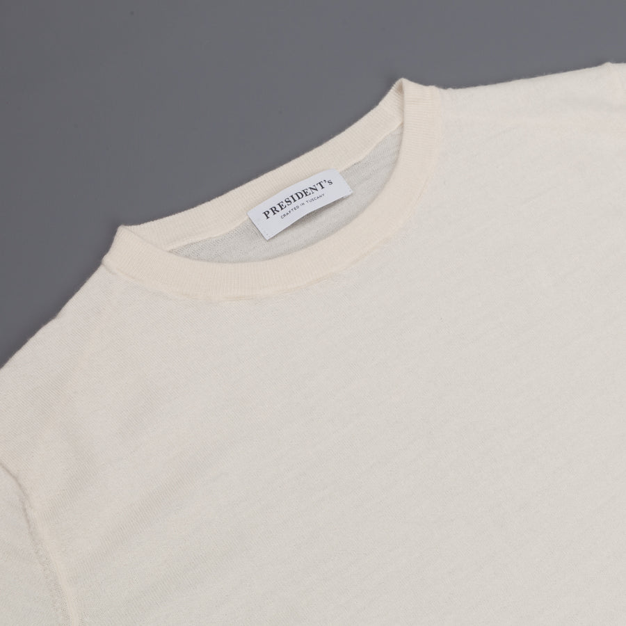 President's Crew Wool/Cashmere Dyed Butter